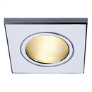 DOLIX OUT MR16 SQUARE Downlight, chrom, max. 35W