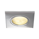 DOLIX OUT GU10 SQUARE Downlight, chrom, max. 35W